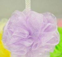 Wholesale New Hot Selling Bath Brushes Body Exfoliate Puff Sponge Mesh Net Ball