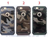 belt bag holster - Camouflage iphone plus case Anti shock PC TPU Cover With Belt Clip Holster For iphone s plus with OPP BAG