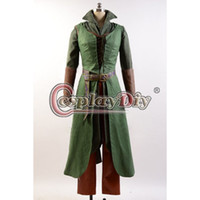 adult elf outfits - The Hobbit Elf Tauriel Cosplay Costume Adult Women Halloween Outfit Custom Made D0615