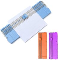 Wholesale Hot Style Cheapest universal Useful A4 A5 Precision Paper Photo Trimmer Cutter Scrapbook Trimmer Lightweight Cutting Mat Machine