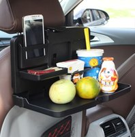 folding tray - ShunWei Auto car used beverage tray table plate for the table Folding bracket SD