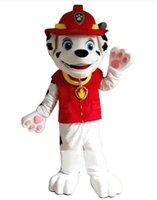 Compra Minion costume-Arrivo Serventi cane adulto del costume della mascotte del vestito operato della mascotte del fumetto vestito Chase il costume della mascotte