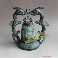 Wholesale Antique bronze bells of Ceng Houyi ornaments crafts collectibles ancient gift