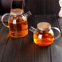 Wholesale Clear High Borosilicate Glass Teacup Mug Coffee Cup Tea Cup With Tea Infuser Filter Lid ml Price