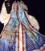 Wholesale spring silk scarf world map satin scarf fashion women shawl scarf size cm