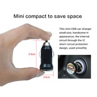 Wholesale 2016 High Quality Bullet Single USB Car Charger Adapter Cigarette Lighter Adapter Suitable for Iphone Samsung Xiaomi Lenovo HTC IPod IPad