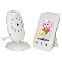 Caméra de surveillance Caméra Moniteur bébé sans fil numérique LCD Colorl Vidéo Wifi Sécurité 2 voies de conversation Night Vision P2P Audio