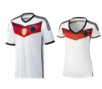 Wholesale Thai quality Deutschland Fussball Bund jersey Home kits World Cup man soccer jerseys woman Cheap football shirt suit
