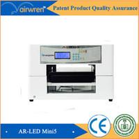 ball pen printer - multi color leather printer AR LED Mini a4 digital flatbed uv printer ball pen printing machine
