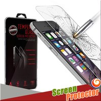 Wholesale For Iphone S Plus Bull Shock Tempered Glass Screen Protector D Explosion Shatter mm Samsung S7 Note5 with Retail Package