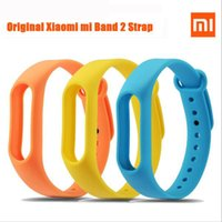 Wholesale In Stock For xiaomi Newest Replacement wrist Strap for Xiaomi Mi Band MiBand Silicone Wristbands for Mi Band2
