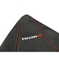 Wholesale Hot New Leather Gear Shift Knob Gaiter Glove Cover For Nissan Nismo
