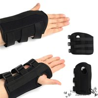 arthritis hand brace - High Quality Fashion cm Black Breathable Right Wrist Hand Brace Support Carpal Tunnel Splint Arthritis Sprain