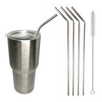 Wholesale High Quality Stainless Steel Straw Metal Drinking Straw For YETI Tumbler Rambler oz oz