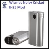 battery in parallel - 100 Original Wismec Noisy Cricket II MOD W O Battery Noisy Cricket Optional Circuit in Series and Parallel