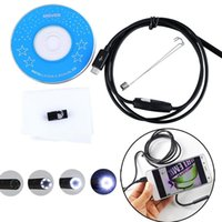 Wholesale 1M Android PC Endoscope Waterproof Borescope Inspection Tube Pipe Snake Camera