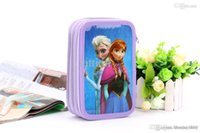 Wholesale Frozen stationery box pen box Pencil Bag suite girl Pencil Bag available from stock Halloween