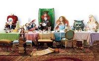 alice in wonderland decor - Alice in wonderland x36 inch art silk poster Wall Decor