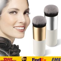 bb manufacturing - New Pro Makeup Beauty cosmetic Face Powder Blush Brushes Foundation Brushes BB Cream Powder Brush GUJHUI Manufacturing Color