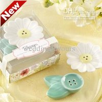 babies party ideas - Sets Blossom Ceramic Salt and Pepper Shakers Wedding Favors Baby Shower Party Event Gifts Ideas