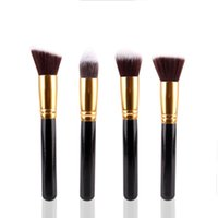 bevel brush - New MAANGE Professional Makeup Brushes Round Flat Bevel Eyeshadow Powder Foundation Brush Sets Pencil Cosmetic Beuaty Tool
