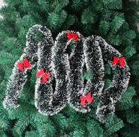 garland christmas - pine garland merry christmas christmas tree decoration strip decoration garland Christmas ribbon Christmas decoration CR002