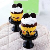 Wholesale Happy Halloween Paper Muffin Cake Cup Paper Baking Cup Cupcake Dia cm