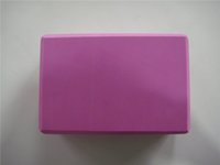 Wholesale Big discount Lady Yoga Pilates Foam Foaming Block Brick Stretch Aid Health Fitness Exercise Gym