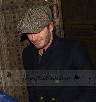 Wholesale Fashion Octagonal Cap Newsboy Beret Hat Autumn And Winter Hats For Men s International Superstar Jason Statham Beckham Male Models M254