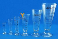Wholesale Top Selling High Quality Graduated Cylinder Measuring ml ml ml ml Lab Glass New Measuring Cylinder Chemistry Lab Spout Measure