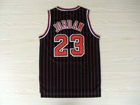 Wholesale Michael Jordan Rookie Jersey Embroidery and Double Stitched Red Men s Authentic Throwback Basketball Jerseys