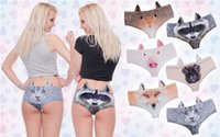 sexy pussy - Women s Ear Panties Sexy Lady Underwear Women s Girl s Sexy Lingerie Briefs Panties Pussy Animal Print Panty Polyester Underpants Underwear