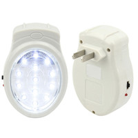 Wholesale Rechargeable Home Wall Emergency Light Power Failure Lamp Bulb US Plug V E00195 BAR