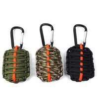 backpacking fishing kit - 100pcs edc Tools Outdoor Camping Equipment Survival Kit Paracord With Knife Flint fishing tools Carabiner Surivival kit