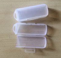 Wholesale 5 Rotatable USB flash drive packaging box Transparent mini box PP Box Size x25x15MM x x inch