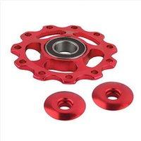 anodized aluminum wheels - Anodized Aluminum Sealed Bearing Jockey Wheel Rear Derailleur Pulleys