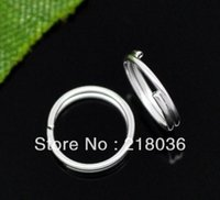 Wholesale HOT Fashion Silver Plated Split Jump Rings x1 mm Findings A1710 DIY Metal Jewelry