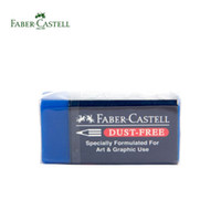 Wholesale Faber Castell Dust Free Blue Eraser Specially Formulated for Art and Graphic Use Drawing Supplies