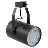 Wholesale 18W LED Track Rail Light Spotlight Adjustable for Mall Exhibition Office Use AC85 V