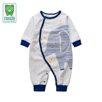 Wholesale 2016 Autumn winter baby newborn bodysuits baby boys clothes cotton polyester france terry infant jumpsuit