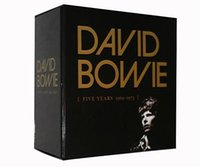 Wholesale Newest David Bowie Five years BOX SET COLLECTION CDs Factory Price