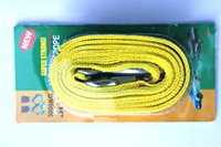Wholesale Trailer Rope M Load Bearing Tons Tow Rope Car Nylon Vehicle Towing Coupler Fluorescent Traction Rope Model A
