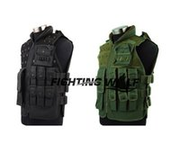 Wholesale Colors Outdoor Airsoft Paintball Wargame Military Tactical Combat Assault Vest Wearable Durable Lightweight Comfortable Vest