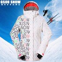 Wholesale New arrival outdoor winter jacket woman snowboard jackets women ski jackets Waterproof windproof women coats Warm breathable