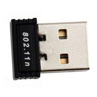 Wholesale Mini USB WiFi Wireless n g b M LAN Adapter Network Card Hot New Arrival