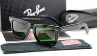 Wholesale High Quality Plank Sunglasses WAYFARER Sunglasses black Men women sun glasses men brand sunglasses Fashion Sunglasses unisex sunglasses
