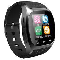 Puce Bluetooth Montre Smartwatch M26 avec Baromètre d'affichage LED Alitmeter Music Player podomètre pour Android IOS Mobile Téléphone libre DHL