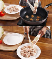 Wholesale 200 Meat Meatball Maker Fish Ball Burger Mold Home Kitchen Gadgets Cookware Scoop Cooking Tools Home Kitchen DIY