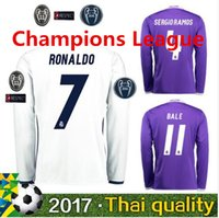 Wholesale Best thailand quality real madrid Champions League soccer Shirts ronaldo bale james kross Soccer shirts MCN3