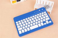Wholesale 7inch mini portable ultrathin wireless bluetooth keyboard rechargeable universal for iphone Samsung ipad laptop tablet PC smartphone